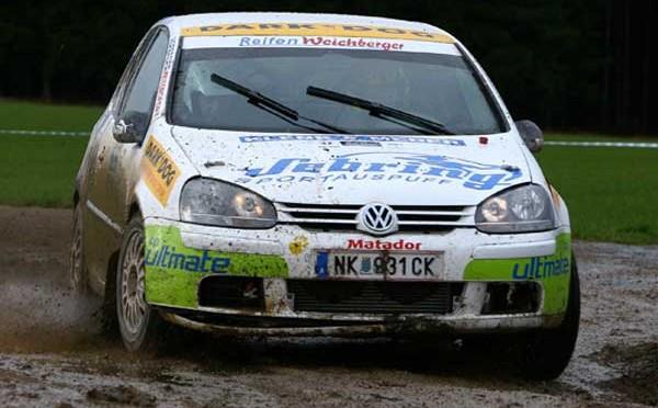 Waldviertel Rallye 2007,  Michael Kogler bei der Waldviertel Rallye nicht vom Glück gesegnet.