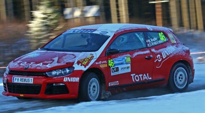 Erste ORM Punkte bei der Jänner Rallye