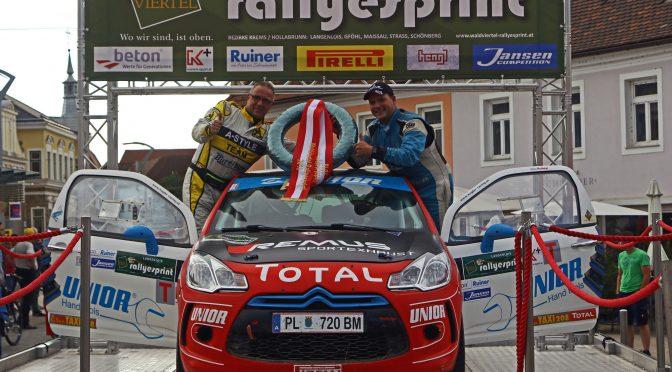 MIG Austria Team beim Waldviertel Rallyesprint (ART2WD)