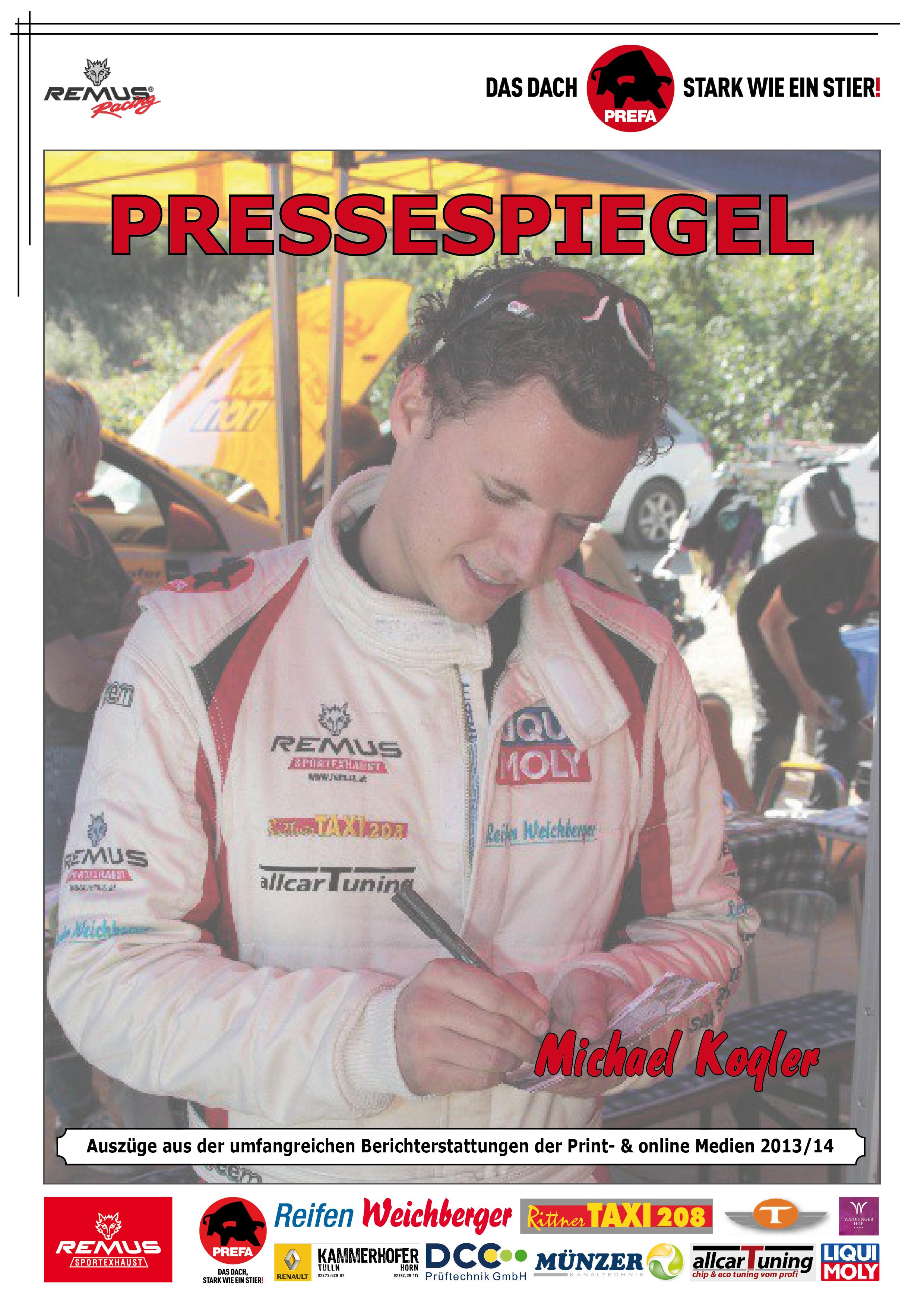 Pressespiegel-Kogler-Racing-online