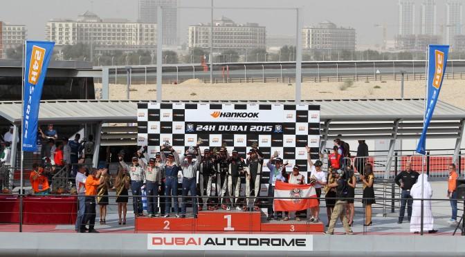 24h von Dubai-Ergebnis